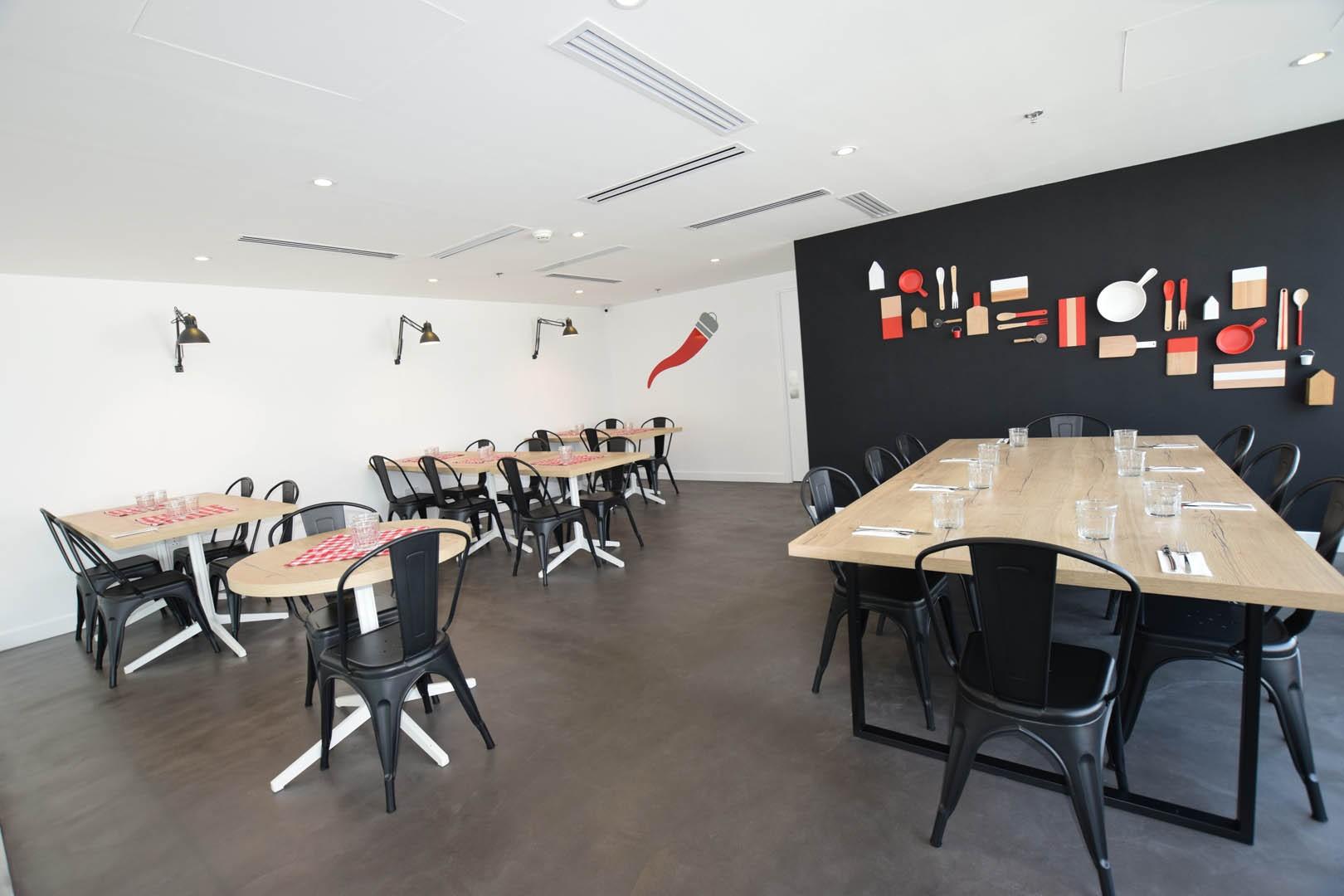 Rosso Vivo Restaurant at Media City
